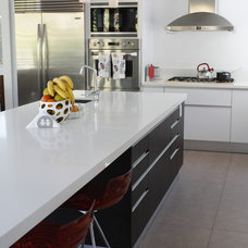 Contemporary Kitchen Cabinetry by InterCuisine/ Kitalian LLC