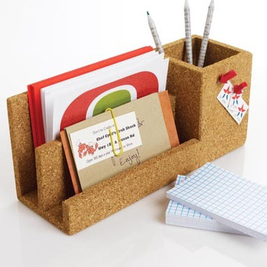 Office Accessories For Men - An assortment of stylish office accessories for men ranging from fun and nifty to cool design. The Circuit Wall File in the featured image is perfect for a cool, underground vibe that's still office appropriate.