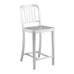 Euro Style - Cafe Counter Chair - The design and construction of the Cafe Chair is as classic as it is indestructible.  Light weight and easy to move around, you're sitting pretty everywhere.