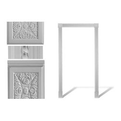 uDecor - DM-8027 Door Set - Set comes with (3) DM-8027, (2) DM-8560, (2) DM-8567