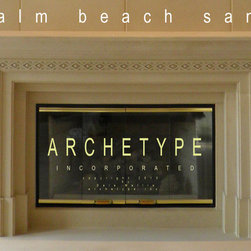12.04  Old Florida/ Palm Beach Styled Fire Surround -
