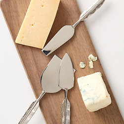 Quill Cheese Knife Set - These knives are great for serving. They're perfect for a hostess!