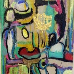 Wacky (Original) by Lauren Meredith - Abstract colorful original artwork.