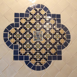 National Company Offers Puebla Talavera Hand Painted Tile - Reeso Tiles is a national company and we can ship anywhere in the U.S.