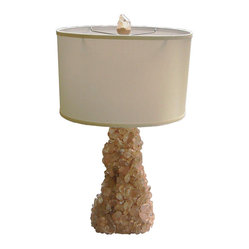 Kari Lobdell - Carol Stuppell Style Quartz Rock Cystal Lamp - Go au naturel. With your decor, that is. This handmade, quartz crystal lamp from designer Kari Lobdell perfectly embodies the beauty and wonder of the natural world.