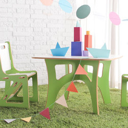 Sprout Modern Kids Furniture - Sprout Kids Table and Chairs set is great for the kids' playroom.