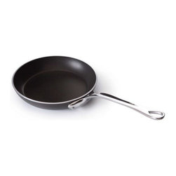 """Mauviel - Mauviel M'stone2 Aluminium Induction Frying Pan, 11"""" - 3 - 4 mm anodized aluminum with grey anthracite ceramic interior and impact bonded induction base; provides superior heat conduction and uniform cooking. Works on gas, electric, halogen and induction stove-tops."""