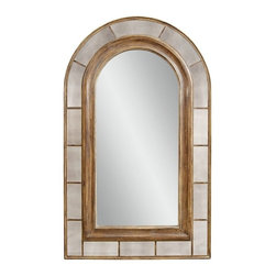 Bassett Mirror Company - Bassett Mirror Old World Clark Arched Leaner Mirror in Rustic Bronze - Clark Arched Leaner Mirror in Rustic Bronze belongs to Old World Collection by Bassett Mirror Company Bassett Mirror is fluent in this art, showing a terrific contemporary furniture that will satisfy on the one hand fans of home coziness, and on the other hand - seekers of non-standard design solutions also. One of the many strengths of the Bassett Mirror is using high quality materials for perfect embodiment of brilliant design ideas. Mirror (1)