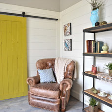 Rustic Living Room by NW Artisan Hardware