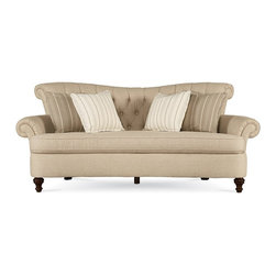 ART Furniture - Provenance Charlotte Linen Sofa - ART-176501-5017AA - Provenance Collection Sofa