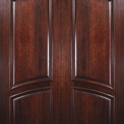 "Slab Front Double Door 96 Wood Mahogany 2 Panel Arch Top Solid - SKU#    PD8396ABrand    GlassCraftDoor Type    ExteriorManufacturer Collection    Solid Panel Entry DoorsDoor Model    Door Material    WoodWoodgrain    MahoganyVeneer    Price    2940Door Size Options    2(36"") x 96"" (6'-0"" x 8'-0"")  $0Core Type    Door Style    Arch TopDoor Lite Style    Door Panel Style    2 PanelHome Style Matching    Door Construction    PortobelloPrehanging Options    SlabPrehung Configuration    Double DoorDoor Thickness (Inches)    1.75Glass Thickness (Inches)    Glass Type    Glass Caming    Glass Features    Glass Style    Glass Texture    Glass Obscurity    Door Features    Door Approvals    Wind-load Rated , FSC , TCEQ , AMDDoor Finishes    Door Accessories    Weight (lbs)    575.2Crating Size    25"" (w)x 108"" (l)x 52"" (h)Lead Time    Slab Doors: 7 daysPrehung:14 daysPrefinished, PreHung:21 daysWarranty    One (1) year limited warranty for all unfinished wood doorsOne (1) year limited warranty for all factory?finished wood doors"