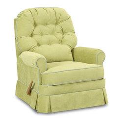Nursery Classics - Albany Swivel Gliding Recliner Chair - Albany Swivel Gliding Recliner Chair