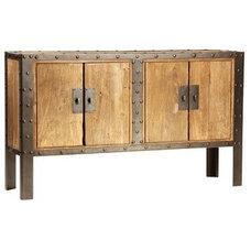 Industrial Entertainment Centers And Tv Stands by Eclectic Home
