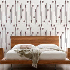 Contemporary Wall Stencils by Olive Leaf Stencils
