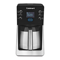Cuisinart - Cuisinart PerfecTemp Programmable Coffeemaker - Fully programmable with 24-hour advance brew start and 14 cups setting
