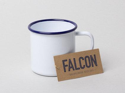 Modern Mugs by Falcon Enamelware