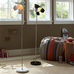 Stage Floor Lamp - Know someone who loves the spotlight? Keep it going on and off the stage with this clever stage floor lamp from PBTeen. Use it simply as a fun accent, or get several for a child's playroom stage set up. The possibilities are endless!