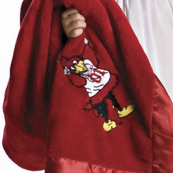Collegiate Delight - University of South Carolina Blanket - Let your school spirit show with these officially licensed collegiate baby blankets. These embroidered coral fleece blankets with matching satin trim are super soft to the touch and perfect for your future graduates and athletes.