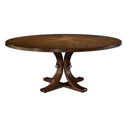 141-70 & 142-70-Artisan Round Dining Table Top & Base - Ash -