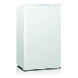 Midea - 3.3cf Refrigerator White - 3.3 cubic foot Refrigerator with white finish  Mechanical temperature control  Low noise   High efficient compressor  CFC free  Adjustable eggs  Tempered-glass shelves.  This item cannot be shipped to APO/FPO addresses. Please accept our apologies.