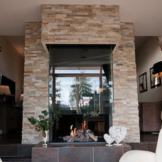 modern fireplaces by Barroco