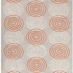 """Jaipur Rugs - Grant Design I-O Ivory/White Solid Rug - Features: -Technique: Hooked.-Material: Polypropylene.-Origin: China.-Indoor and outdoor style.-Durable.-Easy Care.-Looped.-Luxurious and unique.-Polyester is dirt and stain resistant and will look great for a long time just by vacuuming regularly.-Dries fast so deep steam/rug cleaning works great to release dirt from fiber.-If spills occur blot immediately.-Use rug/carpet cleaners that are safe on synthetic fibers.-Use professional cleaning agents only.-To vacuum use an attachment arm or suction only to remove dirt particles.-Construction: Handmade.-Collection: Grant design I-O.-Distressed: No.-Collection: Grant Design I-O.-Construction: Hand Hooked.-Technique: Indoor & Outdoor.-Primary Pattern: Solid.-Primary Color: Dusty Blue.-Border Material: Polypropylene.-Border Color: Dusty Blue.-Type of Backing: Latex backing.-Material: Polypropylene.-Fringe: No.-Reversible: No.-Rug Pad Needed: No.-Water Repellent: No.-Mildew Resistant: No.-Stain Resistant: No.-Fade Resistant: No.-Eco-Friendly: No.-Outdoor Use: Yes.-Product Care: (1) Polyester is dirt and stain resistant and will look great for a long time just by vacuuming regularly, (2) Dries fast so deep steam/rug cleaning works great to release dirt from fiber, (3) If spills occur blot immediately, (4) Use rug/carpet cleaners that are safe on synthetic fibers, (5) Use professional cleaning agents only, (6) To vacuum use an attachment arm or suction only to remove dirt particles.Specifications: -CRI certified: No.-Goodweave certified: No.Dimensions: -Pile height: 0.25"""".-Pile Height: .25"""".-Overall Product Weight (Rug Size: 2' x 3'): 2.4 lbs.-Overall Product Weight (Rug Size: 3'6"""" x 5'6""""): 7.7 lbs.-Overall Product Weight (Rug Size: 5' x 7'6""""): 15 lbs.-Overall Product Weight (Rug Size: 7'6"""" x 9'6""""): 28.5 lbs.Warranty: -Product Warranty: 60 Days."""