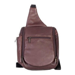 Scully Travel Sling - Brown