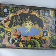 Eclectic Serving Trays by Ruby Lane