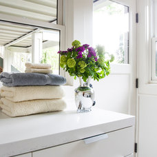 Traditional Laundry Room by Michelle Dirkse Interior Design
