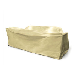 Mr. Bar B Q - Mr. Bar-B-Q Deep Seat Cover - Protect your property from outdoor substances with this deep seat cover from Mr. Bar-B-Q that also resists extreme temperatures.