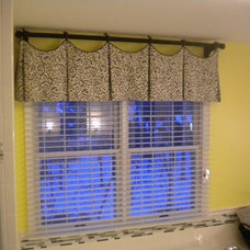 Traditional Curtains by McFeely Window Fashions