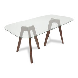 Gibson Glass Dining Table -