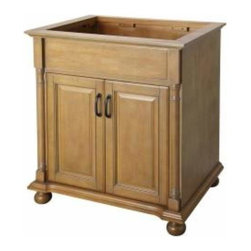 Foremost - Foremost Montevallo 30 Inch Vanity in Weathered Pine Finish - Foremost Montevallo 30 Inch Vanity in Weathered Pine Finish