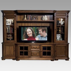 Riverside Cantata Cherry 60-Inch Media Entertainment Center - Elegance is about more than just ...