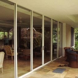 Patio Doors - Fleetwood multi-slide aluminum door