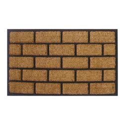 Imports D̩cor - Liner Brick Door Mat (ID716RBCM) - Liner Brick