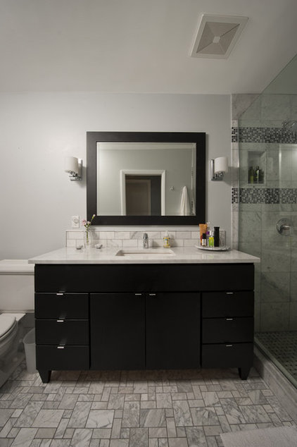 Contemporary Bathroom by Washtenaw Woodwrights