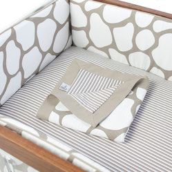 Cobblestone 3-piece Crib Set, Taupe