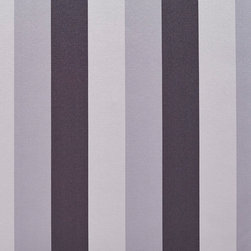 Black And Silver Thick Tri-Color Stripes Faux Silk Upholstery Fabric By The Yard - This upholstery fabric feels and looks like silk, but is more durable and easier to maintain. This fabric will look great when used for upholstery, window treatments or bedding. This material is sure to standout in any space!