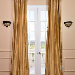 Eureka Silk Stripe Curtain - Our 100% silk drapes & curtains represent extravagant luxury at unbeatable prices. Our team of designers have worked tirelessly to find the best colors & patterns to make our selection truly the largest in the market today.