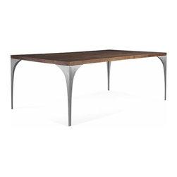 Saloom Furniture - Saloom Furniture | Grace Rectangular Extension Dining Table - Design by Peter Francis, 2013.