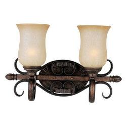 Maxim Lighting - Maxim Lighting 21132MCFL Sausalito 2-Light Bath Vanity In Filbert - Features