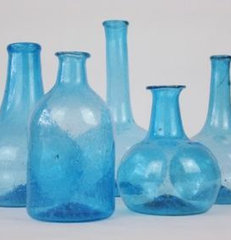 eclectic vases by Kelly Donovan