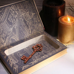 Hollow Book Safe By Hollow Book Company - Keep your love letters, valuables or special keepsakes safe and hidden away in one of these gorgeous hollow books.
