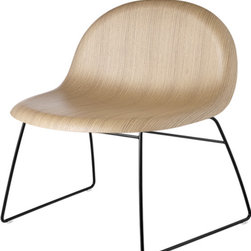 Gubi - Gubi 4 Chair Wood - Included in the Museum of Modern Art's collection of furniture, the Gubi chair is renowned for its lightweight construction and moulded 3D design incorporating three types of veneer. Place it in your contemporary or midcentury modern home and let the compliments roll in.
