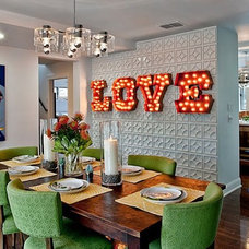 Modern Dining Room by Glynis Wood Interiors