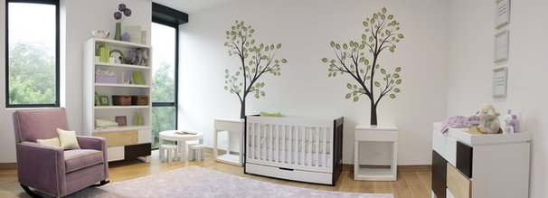 Contemporary Cribs by Finished by Design