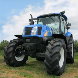 Wallmonkeys Wall Decals - New Four Wheel Drive Tractor Wall Mural - 36 Inches H - Easy to apply - simply peel and stick!