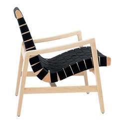 Risom Lounge Chair with Arms