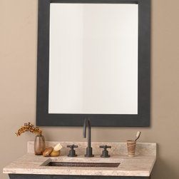 Native Trails Cuzco Mirror - The Cuzco mirror from Native Trails is an artisan crafted hand forged wrought iron frame with a beautiful beveled glass mirror. Use as an elegant accent to our old world vanities or as a stand alone piece in any room in your home.